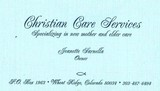 Christian Care Services
