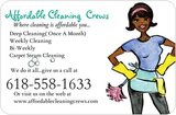 Affordable Cleaning Crews
