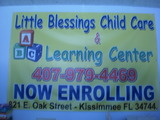 Little Blessings Child Care
